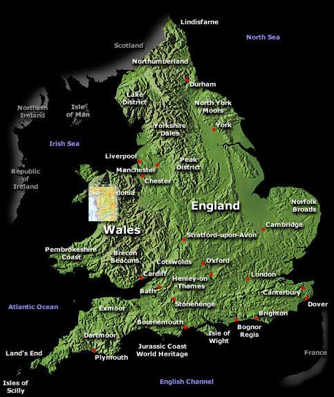Try Flying In Wales European Microlight Federation - Where is wales